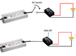 Start Up Issue on LED modules with DC-to-DC Converter: