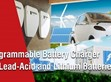 Programmable Battery Charger  for Lead-Acid and Lithium Batteries